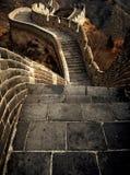 Wielki Mur Porcelanowy architektura punktu zwrotnego pojęcie Obraz Stock