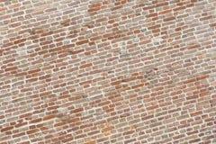 Wielki Mur starych cegieł ośniedziały rocznik Obraz Stock