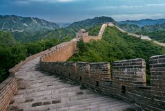 Wielki Mur w Yanqing okręgu administracyjnym fotografia royalty free