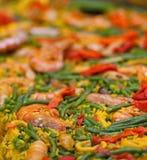 Wielki naczynie Paella Fotografia Royalty Free