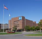 Wielki nowożytny szpital obraz stock