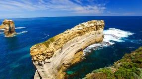 wielki ocean road Widok z lotu ptaka od Razorback punktu widzenia Zdjęcie Royalty Free