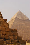 Wielki ostrosłup Giza Obrazy Stock