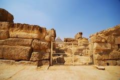 Wielki ostrosłup Giza Fotografia Royalty Free