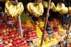 Wielki Owocowy rynek India Obrazy Royalty Free