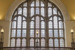 Wielki ozdobny okno obraz royalty free