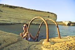 Wielki pływanie Fotografia Royalty Free
