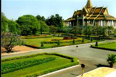 wielki pałac Obraz Royalty Free