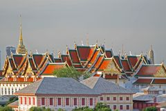 wielki pałac bangkoku Fotografia Stock