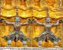 wielki pałac bangkoku Obrazy Royalty Free