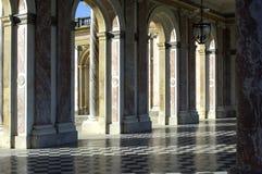 wielki pałac trianon Wersal Obraz Royalty Free