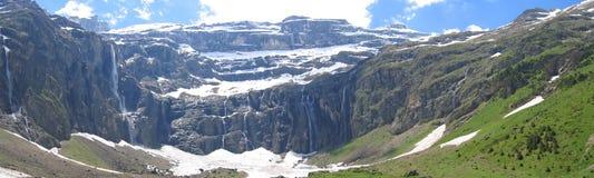 wielki panoramiczny widok Zdjęcia Royalty Free
