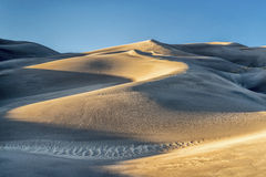 Wielki piasek diun park narodowy Zdjęcia Stock