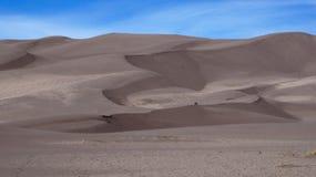 Wielki piasek diun park narodowy i prezerwa, Kolorado Fotografia Royalty Free