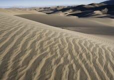 Wielki piasek diun park narodowy w Południowym Kolorado Zdjęcia Royalty Free