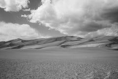 Wielki piasek diuny park narodowy Obraz Royalty Free