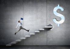 Wielki plan dla pieniężnego przyrosta obrazy royalty free