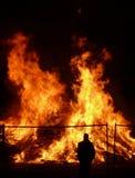 wielki pożar obrazy royalty free