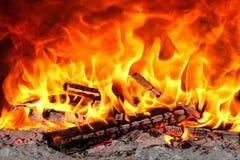 wielki pożar Zdjęcia Stock