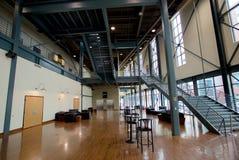 Wielki pokój przy Gibson gitary fabryką w Memphis, Tennessee Fotografia Royalty Free