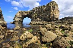Wielki Pollet łuk, Fanad, Co Donegal, Irlandia Fotografia Royalty Free