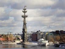 wielki pomnikowy Moscow Peter Obraz Stock