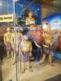 Wielki potężny Srilankan królewiątko Gamunu obrazy stock