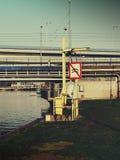 Wielki przedsięwzięcie na rzece Fotografia Stock
