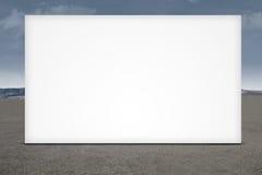 Wielki pusty billboard Zdjęcia Stock