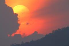 wielki słońce Obraz Stock