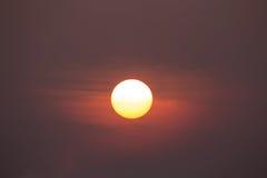 wielki słońce Zdjęcia Stock