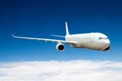 wielki samolot pasażerski Fotografia Stock
