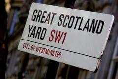 Wielki Scotland Yard Zdjęcie Royalty Free