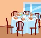 wielki stół Fotografia Royalty Free