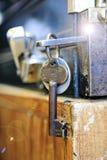 Wielki starego stylu klucz Obraz Stock