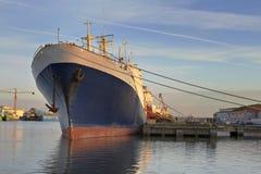 wielki statek zdjęcia royalty free