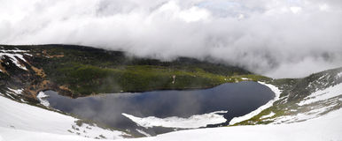Wielki Staw in Giant Mountains. (Krkonose) - Polska Royalty Free Stock Photo