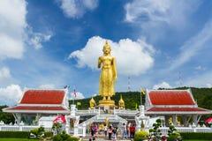 Wielki trwanie Buddha wizerunek Zdjęcia Stock