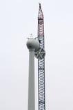 wielki turbiny wiatr Obrazy Royalty Free