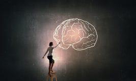 Wielki umysłu pojęcie Fotografia Stock