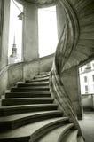 Wielki Wendelstein schody Zdjęcia Royalty Free