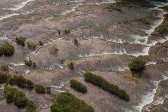 Wielki widok KRKA parka narodowego siklawy Obrazy Royalty Free