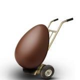 Wielki Wielkanocny jajko nieść royalty ilustracja