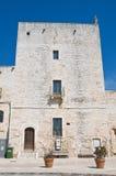 Wielki wierza. Cisternino. Puglia. Włochy. Zdjęcie Stock