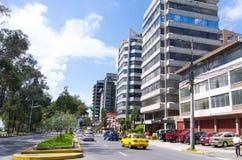Wielki wizerunek od nowożytnej części miesza nowej Quito Obrazy Royalty Free