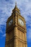 Wielki zegar Westminister Zdjęcie Stock