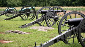 wielkie artyleryjski federalny zdjęcie royalty free