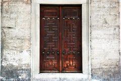 wielkie drzwi Zdjęcia Stock