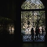wielkie drzwi kościoła zdjęcie royalty free