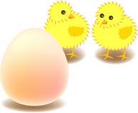 wielkie jajo ilustracja wektor